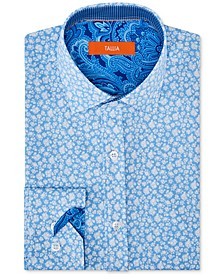 Men's Slim-Fit Floral Graphic Shirt