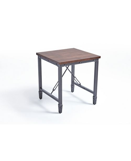 Noble House Iniko Industrial Side Table