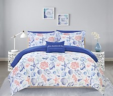 Chic Home Dalis 8 Piece Queen Bed In a Bag Comforter Set