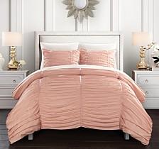 Chic Home Kaiah 7 Piece Queen Bed In a Bag Comforter Set