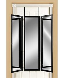 Over The Door, Wall Mounted Triple View 3 Way Bedroom Dressing Mirror