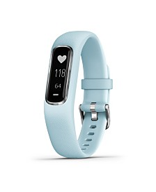Garmin Vivosmart 4 Activity Tracker in Blue and Silver