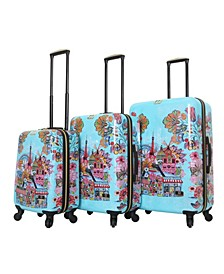 Car Pintos Ohalina La La 3-Pc. Hardside Spinner Luggage Set