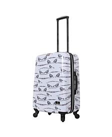 """Valerie Valerie Aubergine 24"""" Hardside Spinner Luggage"""