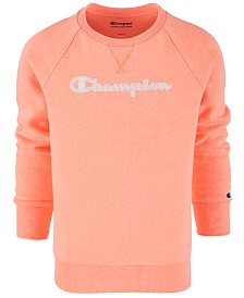 Champion Little Girls French Terry Logo Sweatshirt