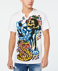 I.N.C. Men's Jungle Graphic T-Shirt, Created for Macy's