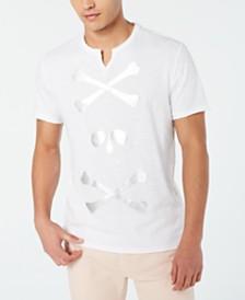I.N.C. Men's Skull & Cross Bones T-Shirt, Created for Macy's