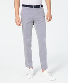 I.N.C. Slim-Fit Striped Pants, Created for Macy's