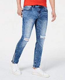 I.N.C. Men's Ripped Skinny Jeans, Created for Macy's