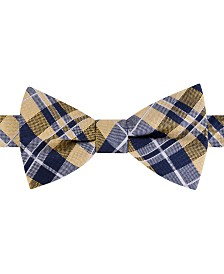 Tommy Hilfiger Men's West Side Plaid Pre-Tied Silk Bow Tie