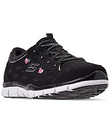 Skechers Women's Gratis - Divine Bloom Walking Sneakers from Finish Line