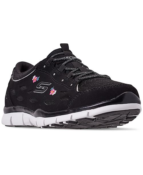 Skechers Women's Gratis - Divine Bloom Walking Sneakers from Finish Line