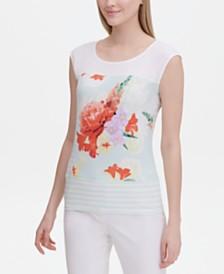 Calvin Klein Printed Top