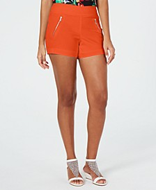 Zip-Pocket Shorts, Created for Macy's