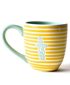by Laura Johnson Yellow In Dog Coffees Mug