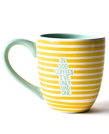 Coton Colors Yellow In Dog Coffees Mug