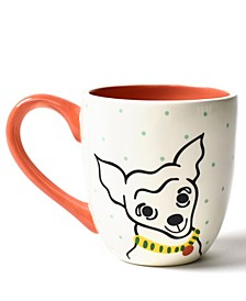 by Laura Johnson Pet Pointy Dog Portrait Mug