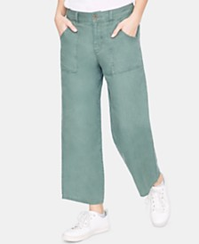 Sanctuary Traveler Wide-Leg Capri Pants
