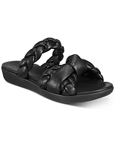FitFlop Braid Slide Sandals