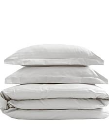 Silky Soft Long Staple Cotton Stripe King Duvet Sets