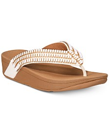 FitFlop Surfa Crystal Platform Flip-Flop Sandals