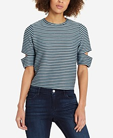 Skinny Girl Kate Short Sleeve Striped Top