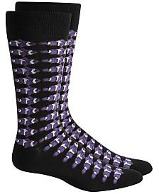 Alfani Men's Clown Fish Socks, Created for Macy's