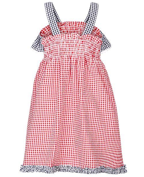 b361a7330e Good Lad Toddler Girls Gingham Seersucker Star Dress   Reviews ...