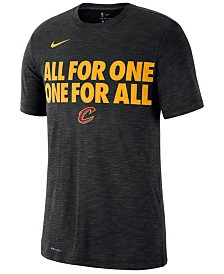 Nike Men's Cleveland Cavaliers Team Essential Local Slogan Slub T-Shirt