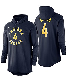 Nike Men's Victor Oladipo Indiana Pacers Hooded Player Name and Number Long Sleeve T-Shirt
