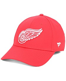 Authentic NHL Headwear Detroit Red Wings Basic Flex Stretch Fitted Cap