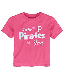 Toddlers Pittsburgh Pirates Girly Fan T-Shirt