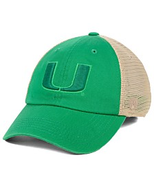 Top of the World Miami Hurricanes Snog St. Paddys Adjustable Cap