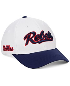 Top of the World Ole Miss Rebels Tailsweep Flex Stretch Fitted Cap