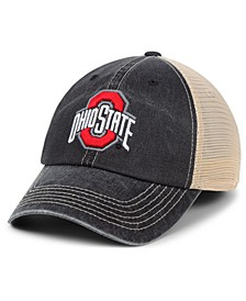 Ohio State Buckeyes Wicker Mesh Snapback Cap