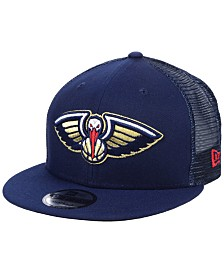 New Era New Orleans Pelicans Nothing But Net 9FIFTY Snapback Cap