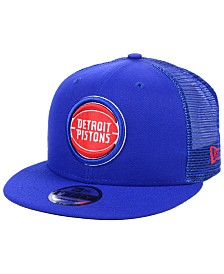 New Era Detroit Pistons Nothing But Net 9FIFTY Snapback Cap