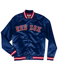 Mitchell & Ness Men's Boston Red Sox Lightweight Satin Jacket