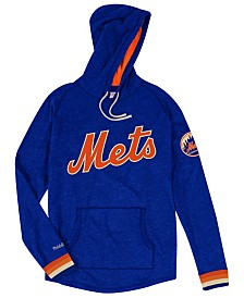 Mitchell & Ness Men's New York Mets Midweight Appliqué Hoodie