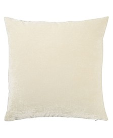 """Luxe Solid Down Throw Pillow 20"""""""
