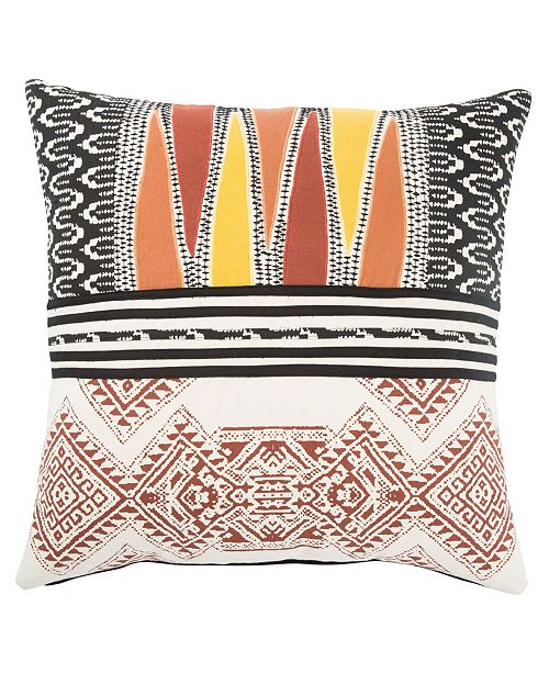 """Jaipur Living Museum Ifa By Mesa Geometric Throw Pillow 22"""" Collection"""