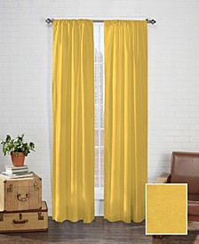 "Cadenza 40"" x 54"" Microfiber Curtain Set"