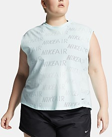 Nike Plus Size Air Logo-Print T-Shirt