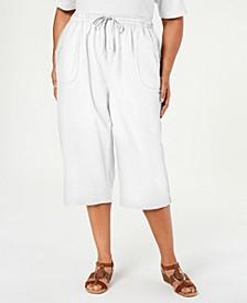 Plus Size Kiera Capri Pants, Created for Macy's