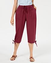 f86da6e38dd Karen Scott Dahlia Solid Capri Pants