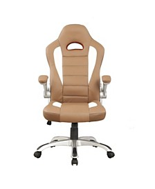 Techni Mobili Sport Race Office Chair, Quick Ship