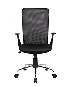 Techni Mobili Back Assistant Office Chair, Quick Ship
