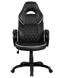 Techni Mobili High Back Executive Sport Office Chair, Quick Ship