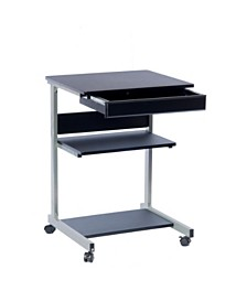 Techni Mobili Rolling Laptop Cart, Quick Ship