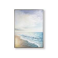 Sunset Shores Framed Canvas Wall Art